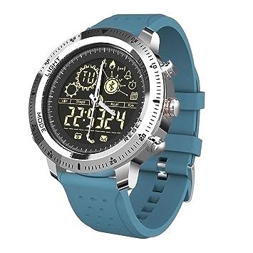 Beautyrain NX02 Reloj Inteligente, Reloj Deportivo Pulsera Inteligente Rastreador de Ejercicios, Impermeable, Unisex