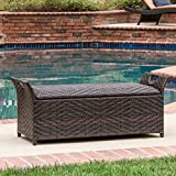 This Outdoor Ottoman Offers Much Storage. The