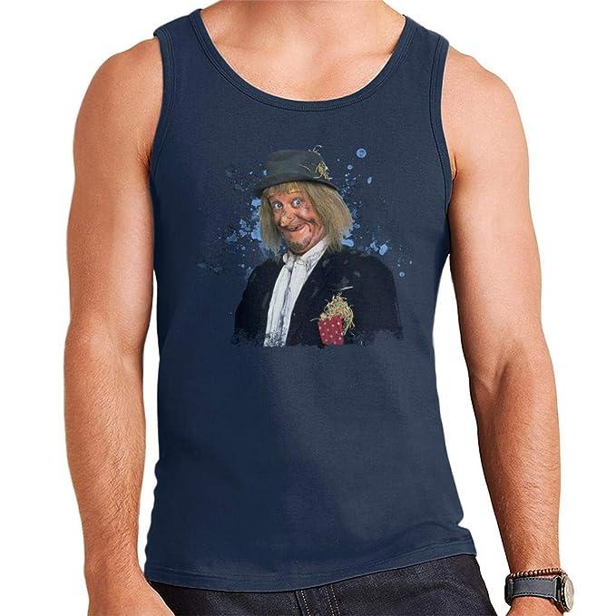 Jon Pertwee Wurzel Gummidge Vest for Men, S to XXL