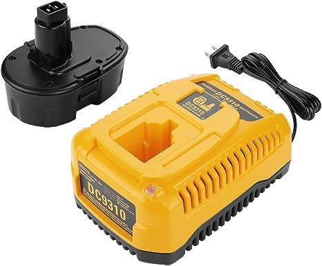 Chargeur pour Dewalt dc330 dc330k dc330ka dc330kb Batterie 18v 3000mah