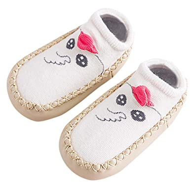 6279b2ebd944c Chaussures Enfants ADESHOP Mode Nouveau-Né BéBéS GarçOns Filles Mignon Chic  Animal Imprimé Chaud Chaussettes