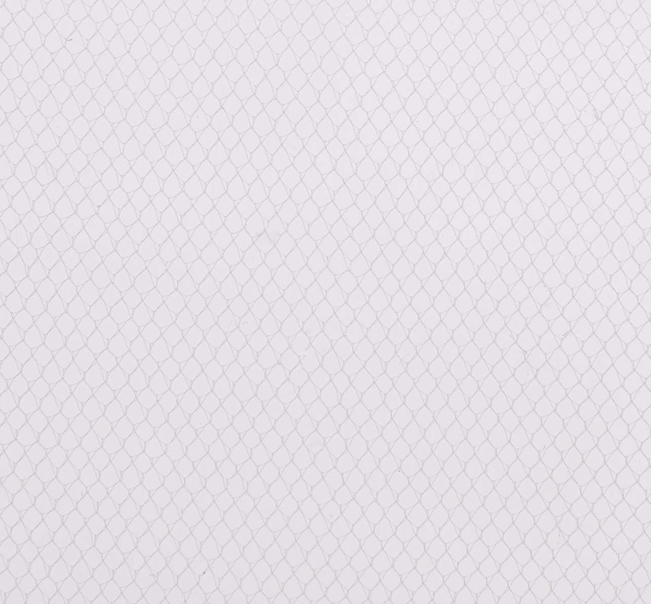 X100 WHITE CROCHET HEADBANDS SUPER SOFT STRETCHY HAIRBAND
