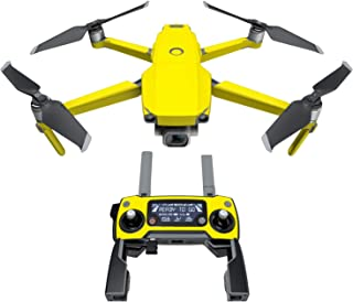 product image for Solid State Yellow Decal Kit for DJI Mavic 2/Zoom Drone - Includes 1 x Drone/Battery Skin + Controller Skin