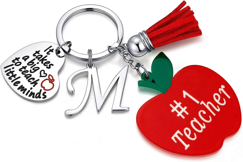 Teacher Gifts for Women, Teacher Appreciation Gifts for Women Teacher Keychain