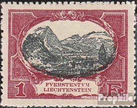 Liechtenstein 60 1921 Prince Liechtenstein. (Stamps for Collectors) Landscapes ()