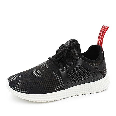 Amlaiworld Zapatos de hombre zapatillas deportes hombre running Zapatillas deportivas para hombre Botas Zapatos de camuflaje