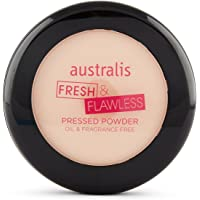 Australis Fresh and Flawless Pressed Powder in Deep Natural