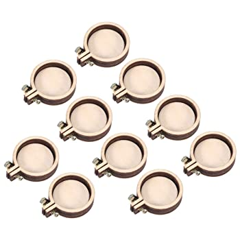 SUPVOX 10pcs Embroidery Hoop Mini