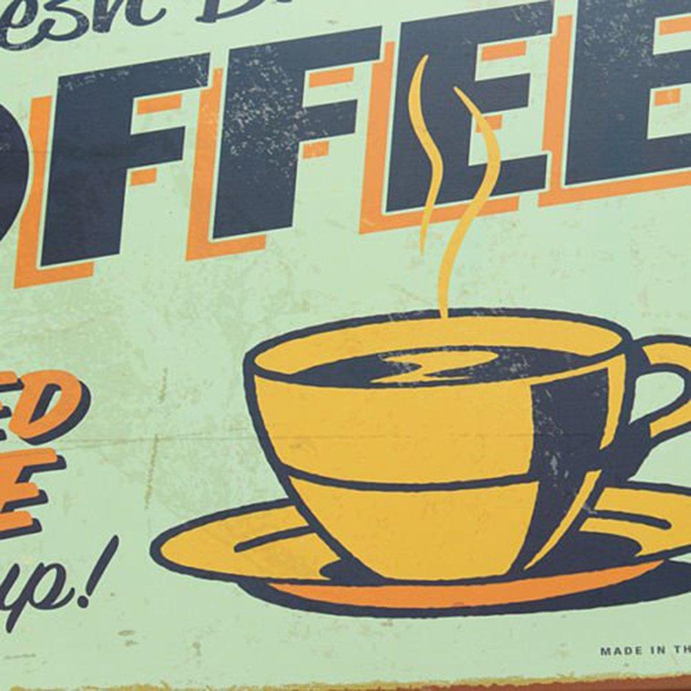StillCool Vintage Metal Tin Retro Poster Sign Fresh Brewed Cafe Coffee Bar Sign For Wall Bar Pub Home Decor 6106870