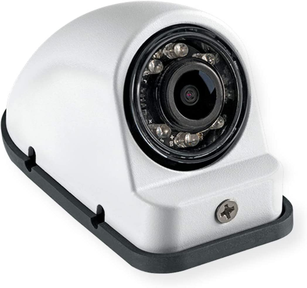 Voyager VCMS50RWT Model VCMS50 Right Side Color CMOS IR Low Light Assisted LED Camera White Compact Size