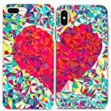 Lex Altern Couple iPhone Case Xs Max X Xr 10 8 Plus 7 6s 6 SE 5s 5 Abstract Heart TPU Clear Apple Love Girlfriend Phone Geometric Cover Anniversary Soft Print Protective Matching Friend