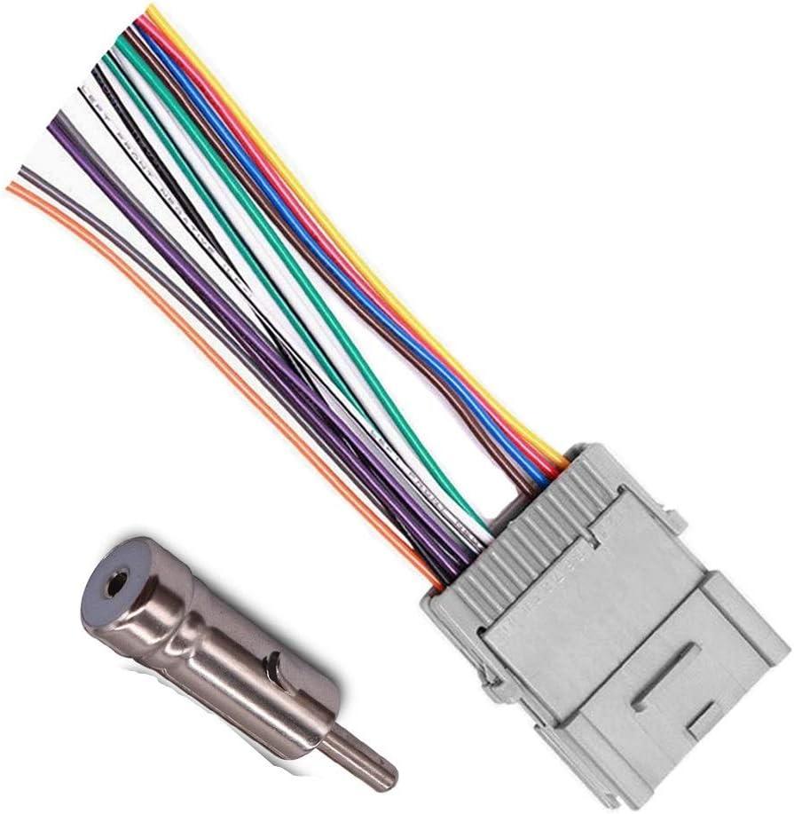 Amazon.com: Stereo Audio Radio Wiring Harness for Buick Chevy GMC Pontiac:  Car ElectronicsAmazon.com