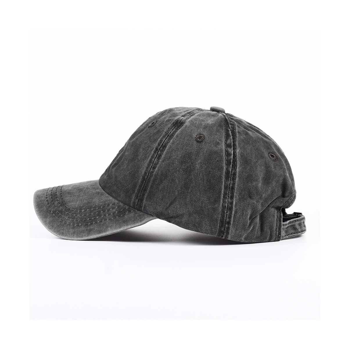 c6d0700794b Amazon.com  Eohak Kids Baseball Hat Washed Low Profile Cotton and Denim Plain  Baseball Cap Hat