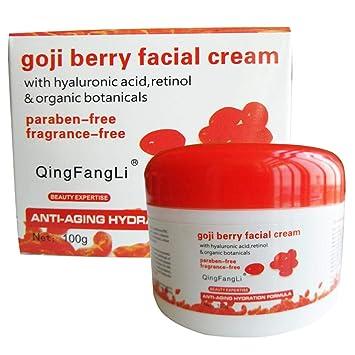100g Goji Berry Facial Cream Moisturizing Essence Collagen Anti Wrinkle Acne Non-Greasy Whiten Facial