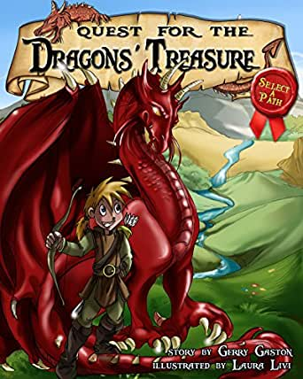 Quest For The Dragons Treasure Kindle Edition By Gerry Gaston