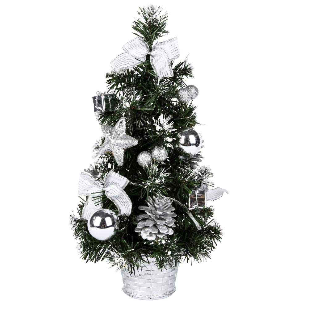 Escolourful 40cm LED Christmas Tree Xmas Decor Small Party Ornament Festival Gift [ship from America]