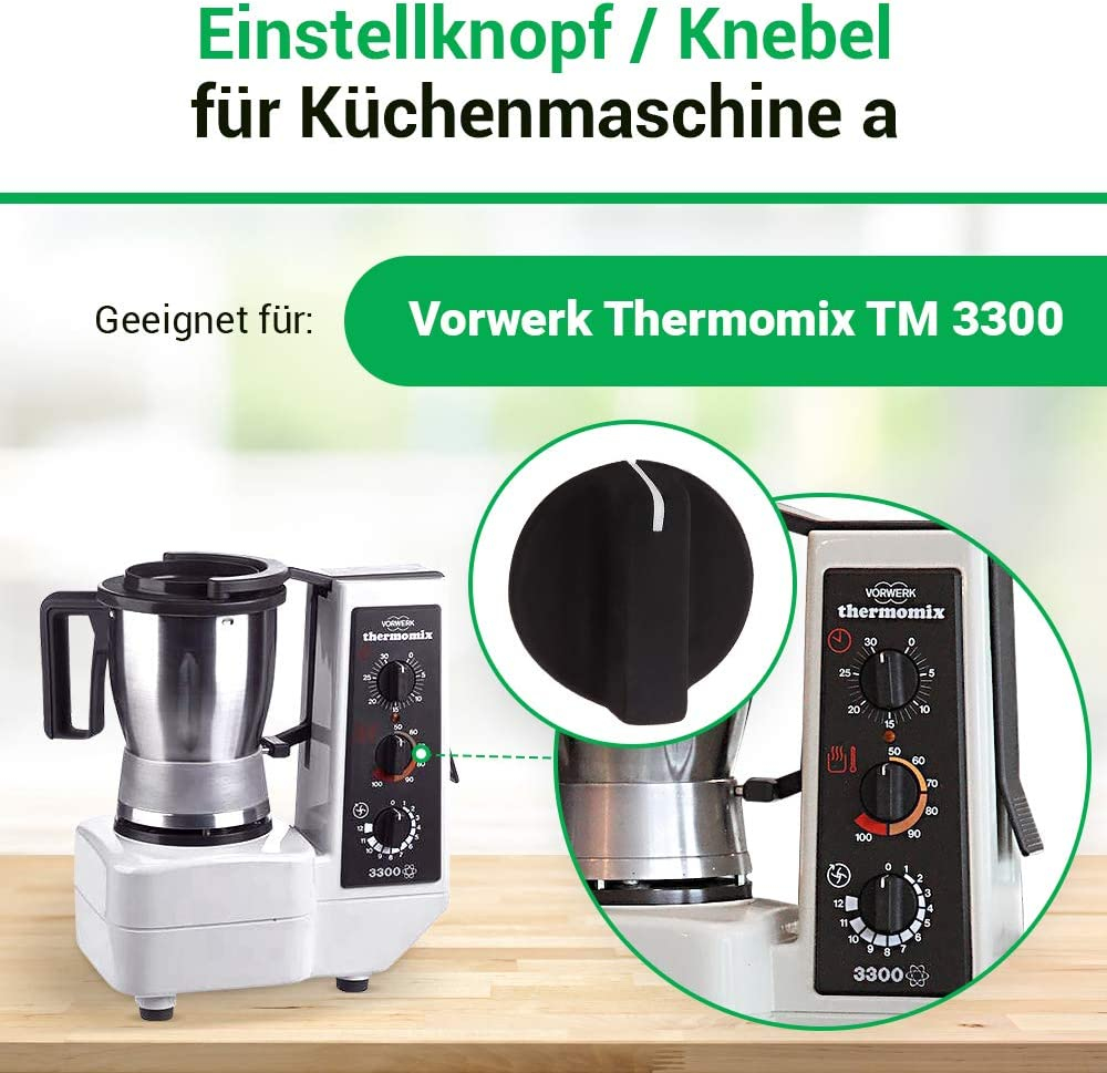 Knob adjustment button for the Vorwerk Thermomix TM 3300 food processor accessories spare parts: Amazon.es: Hogar