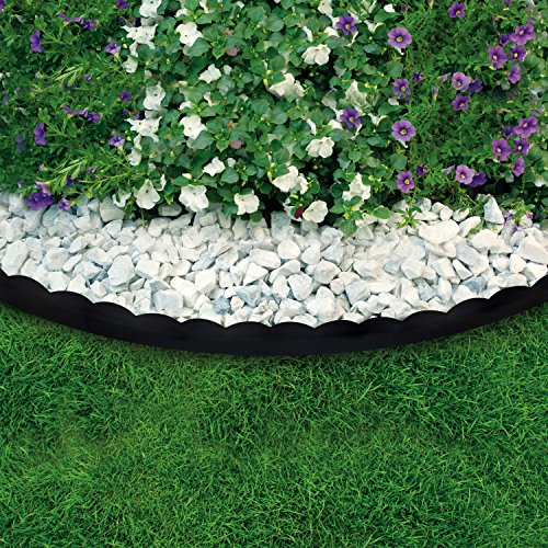 Dimex easyflex 2 in 1 plastic landscape edging project kit for Garden edging prices