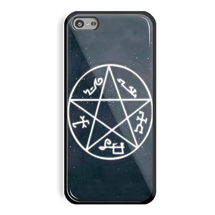 Supernatural Demon Trap Symbol For Iphone 5c Black Case