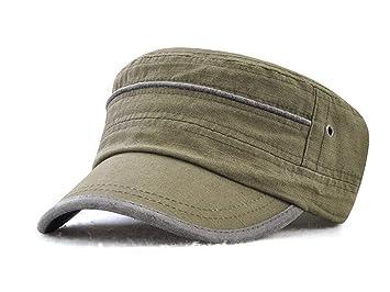 984c8557cded1 FOOKREN Men's Army Military Flat Caps Baseball Sun Cap Sun Hat No 22, NO-