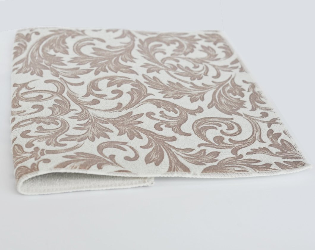 PLD Kitchen Microfibre Super Absorbent Dish Drying Mat Machine Washable Cream