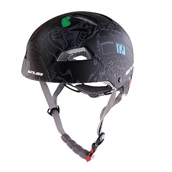 MagiDeal Casco Protector Cabeza Seguridad Accesorio para Ciclismo Mountain Bike Sport Ultraligero, Negro: Amazon.es: Deportes y aire libre