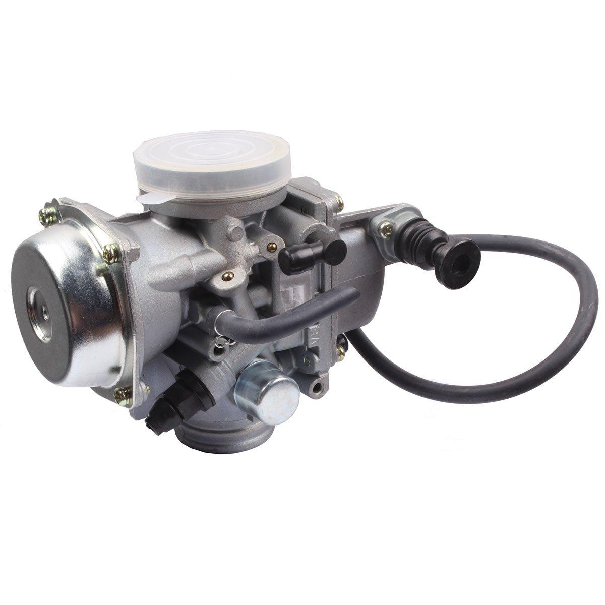 HONDA TRX350 ATV CARBURETOR TRX 350 RANCHER 350ES/FE/FMTE/TM/CARB 2000-2006 TRX300 1988-2000 TRX400 TRX 400FW Foreman CARB, TRX 450 Carburetor TRX450FE 450FE FE Foreman CARB by BETOOLL (Image #4)