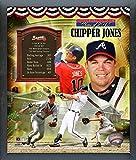 """Chipper Jones Atlanta Braves MLB Hall of Fame Photo (Size: 12"""" x 15"""") Framed"""