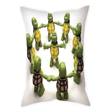 Amazon.com: Microfiber Throw Pillow Cushion Cover,Reptile ...