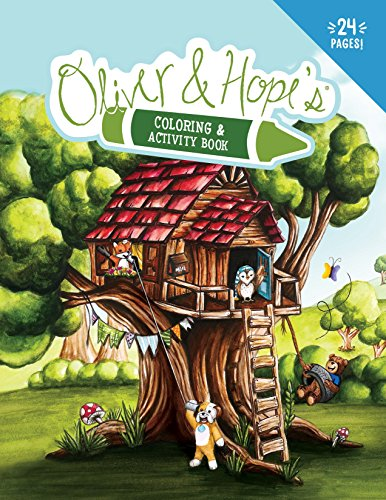 Oliver   Hope S Coloring   Activity Book