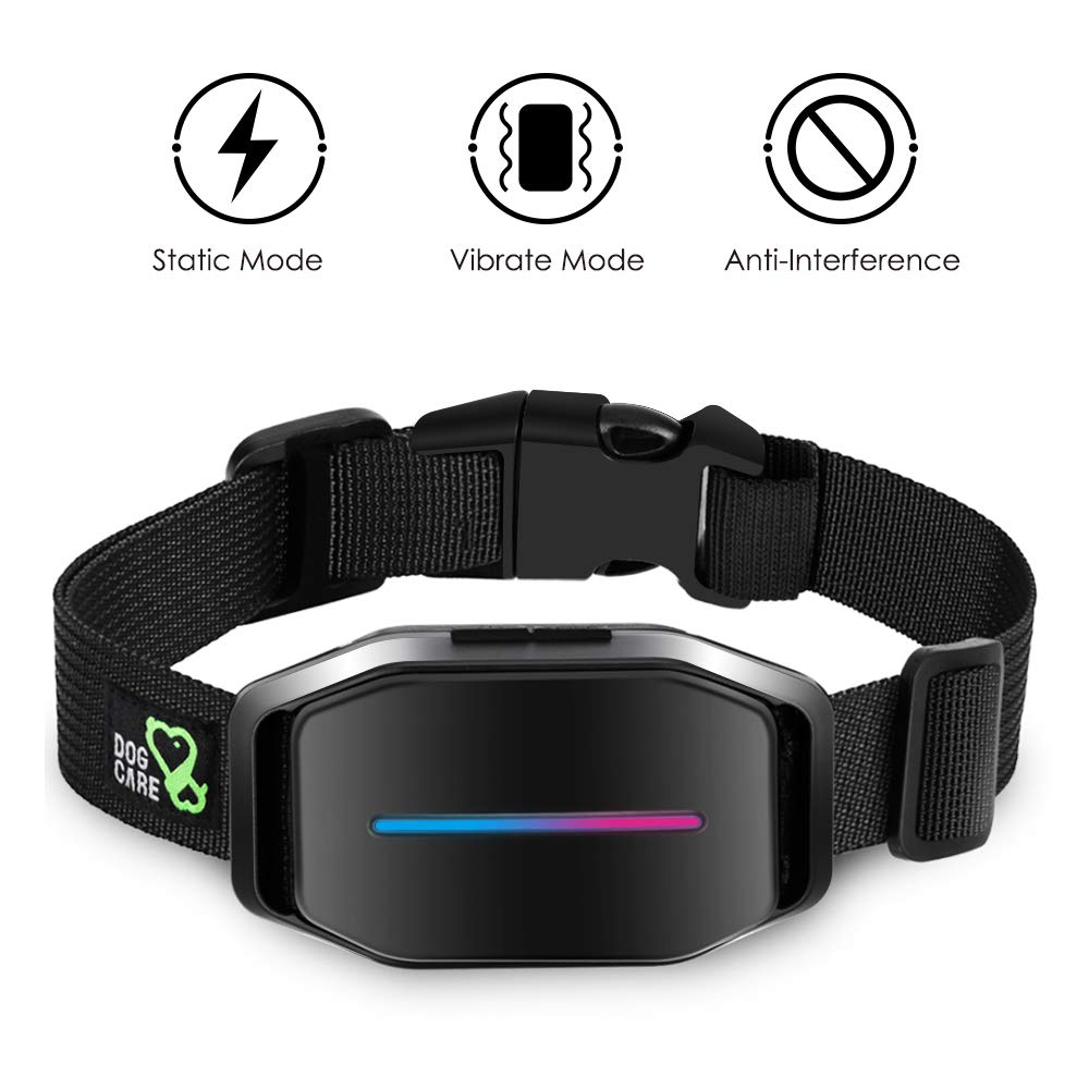 Dog Bark Collar - Effective Bark Collar for Dogs, Sound, Vibration & Automatic 7 Levels Shock Modes Training Collar w/LED Indicator, Easy to Use Dog Shock Collars by DOG CARE