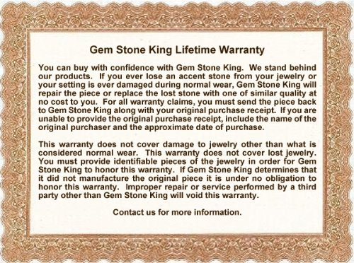 925 Sterling Silver Adjustable Diamond Tennis Bracelet 3.60 ct Oval Aquamarine by Gem Stone King (Image #3)