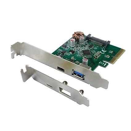 Connectland pcie-cnl-USB-c-3.1 + a Tarjeta PCI Express USB V3.1 ...