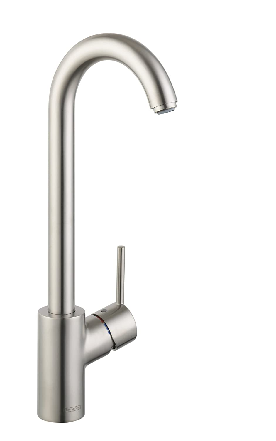 Hansgrohe 04287800 Talis S Bar Faucet, Steel Optik - Bar Sink ...