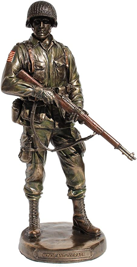 US Army Soldier Honor and Courage Statue JFSM INC
