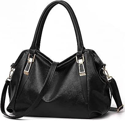 Tote Handbag for Women Vegan Leather Shoulder Bag Hobo bag Satchel Purse for Girls School Work &