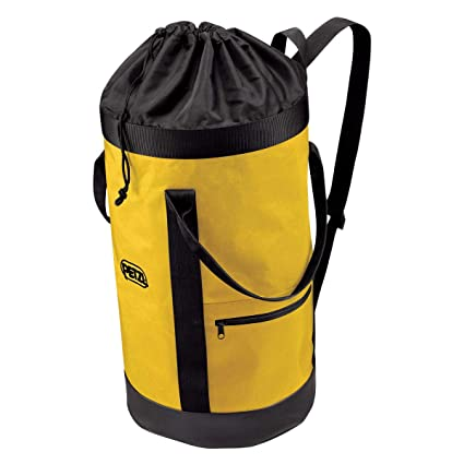 Remains Upright Black//Yellow Petzl S41AY 025 BUCKET Fabric Pack 25 L