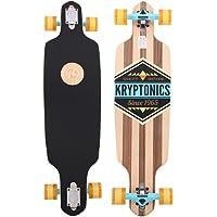 Kryptonics Longboard Through–Monopatín con rodamientos ABEC 5, Skateboarding
