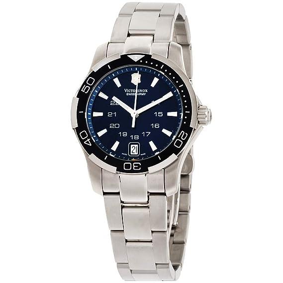 Victorinox 241307 - Reloj de Pulsera Mujer, Acero Inoxidable ...