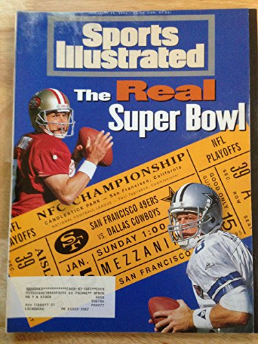 SPORTS ILLUSTRATED JAN 16, 1995 STEVE YOUNG 49ERS & TROY AIKMAN COWBOYS ()