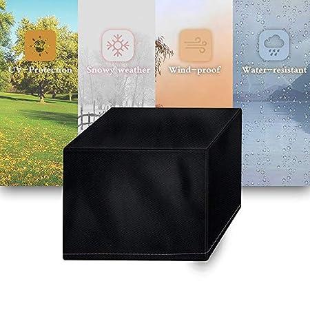 JYW-Covers Cubierta De Muebles Muebles Cubierta, Al Aire Libre Fosas para Barbacoa Guardapolvo, Resistente Al Agua/UV,Black,80 * 66 * 100Cm: Amazon.es: ...