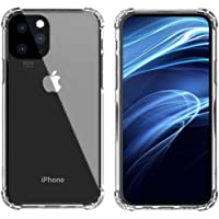ANUOEXGO 5.8inch HD Clear Case for iPhone 11 Pro, Shock-Absorbing Silicone Air Armor Drop Protective Cover