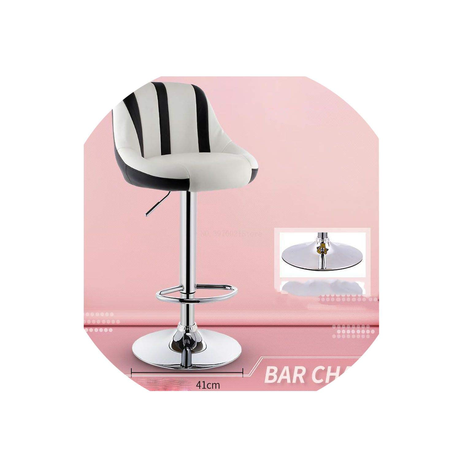9 one size Bar Stool Lift redating Bar Chair Cash Register High Stool Home Beauty Front Back Stool,13
