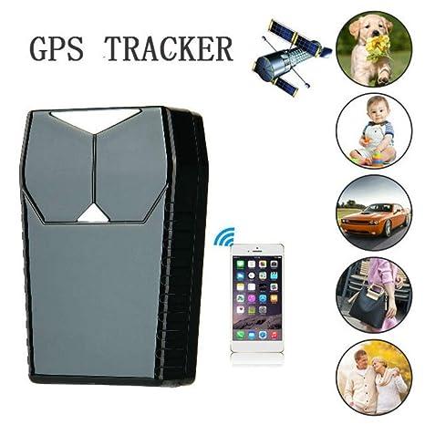 LKJCZ Mini Coche Impermeable GPS Tracker GPS/gsm/GPRS Tracker Coche Antirrobo Oculto Portátil