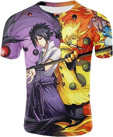 Camiseta de Anime y Manga Regalo para Ni/ña Adolescente Camiseta
