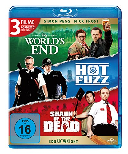 Cornetto Trilogie (The World's End, Hot Fuzz, Shaun of the Dead)