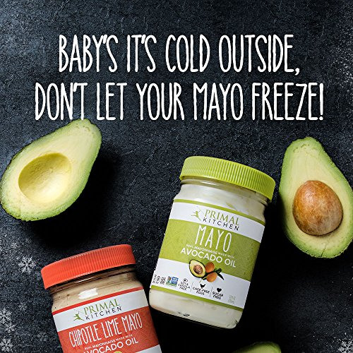 Primal Kitchen - Paleo Approved Avocado Oil Mayo, 12 Oz (4 Jars)