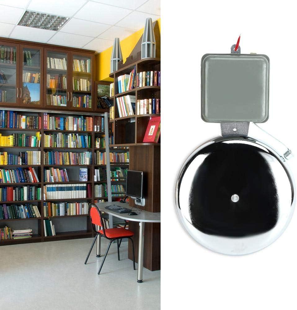Timbre de timbre el/éctrico de 8 pulgadas 220V suministro de salvaguardia multiprop/ósito Alarma de incendio Alarma de se/ñal de campana para la f/ábrica de la escuela.