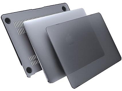 uftstoff® DEFENDER II, Macbook 12 case ★ Carcasa dura en gris espacial ★ funda, nuevos accesorios Retina 2016 - Promoción Amazon