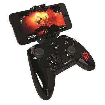 Mad Catz Micro C T R L i Mobile Gamepad - Gloss Black (IOS